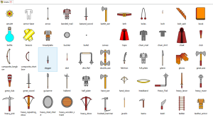 A couple of design scaffolding icons in there as well...